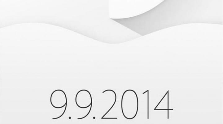 Apple's September 9th event invitation