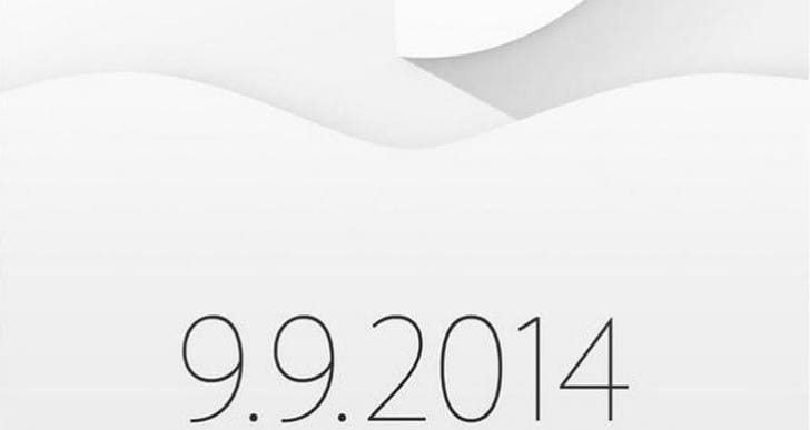 Apple's September 9th event invitation