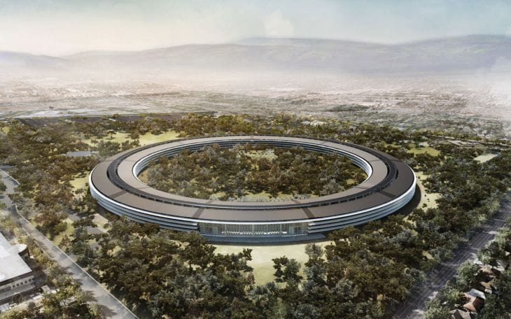 Apple Spaceship campus location approved