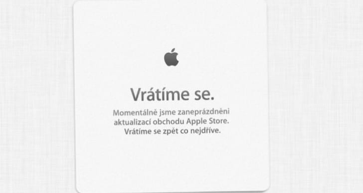 Update: Apple Store down for Back to School promotion today