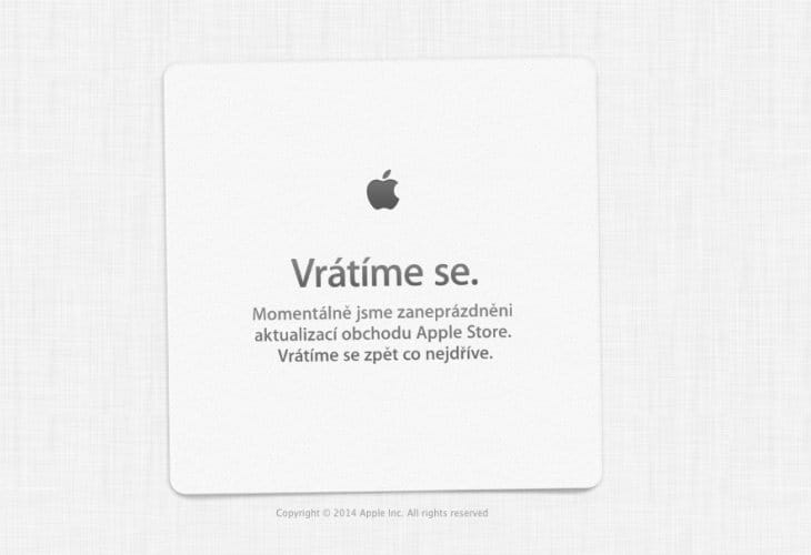 Apple Store down for Back to School promotion today