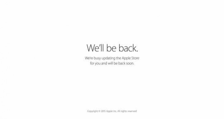 Apple Store is down today, July 15 for new iPod range