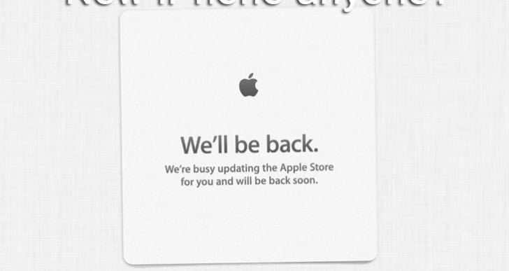 Apple Store down today for Sept 10 2013 event