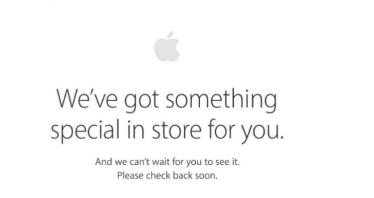 Apple store not loading today for Sept. Pre-order
