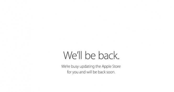 Apple Store down today before event