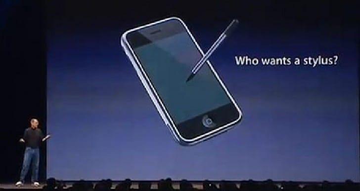 Apple patent stylus design, future iPen?