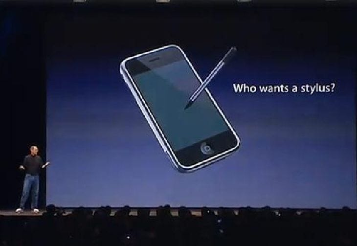 Apple patent stylus design, future iPen?
