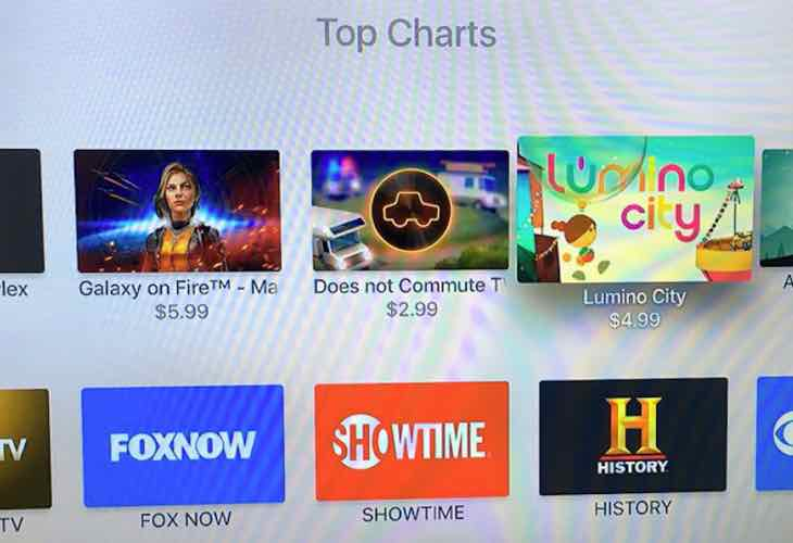 Apple TV Top Charts