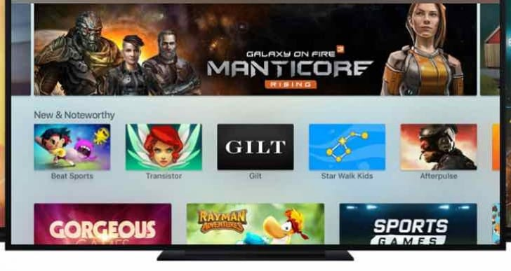 Apple TV app store live in days
