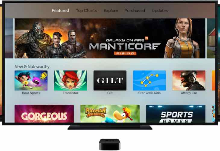 Apple TV app store live