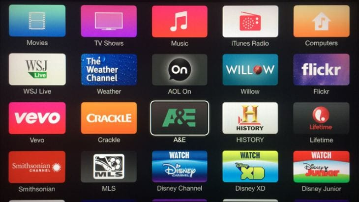 Apple TV update 7.0