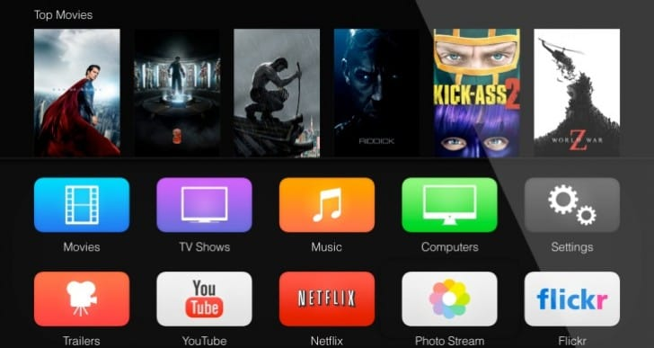 Apple TV update joins iOS 7 public release