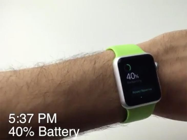 Apple Watch battery drain in 14-hour review