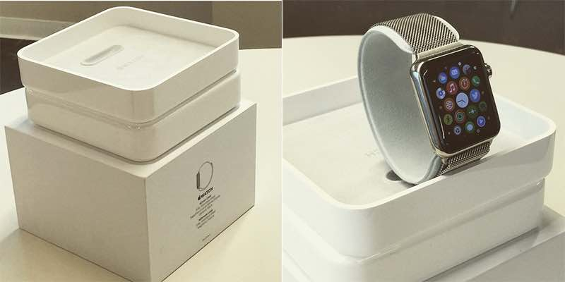 Apple Watch packaging