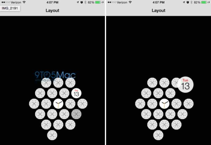 Apple Watch settings and interactivity within iPhone app