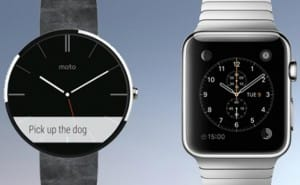 Apple Watch vs. Moto 360 band options