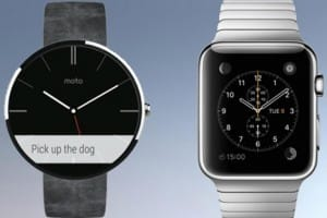 Apple Watch vs. Moto 360 band options