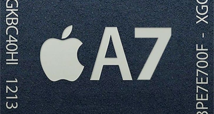 Apple designs A7 chip specs, Samsung still the laborer