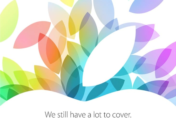 Apple event October 2013 worldwide start times