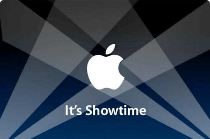 Apple iPad event date and time by invitation