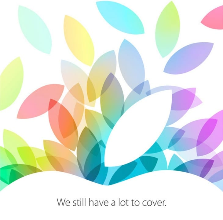 Apple October event invites have now been sent out