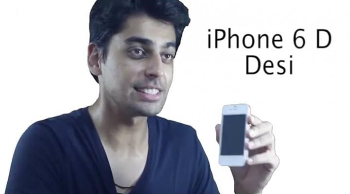 Apple iPhone 6 keynote parody video for India