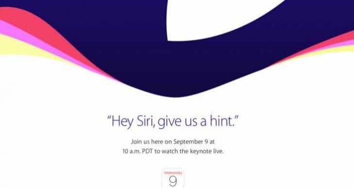 Apple September 9, 2015 Event start time worldwide