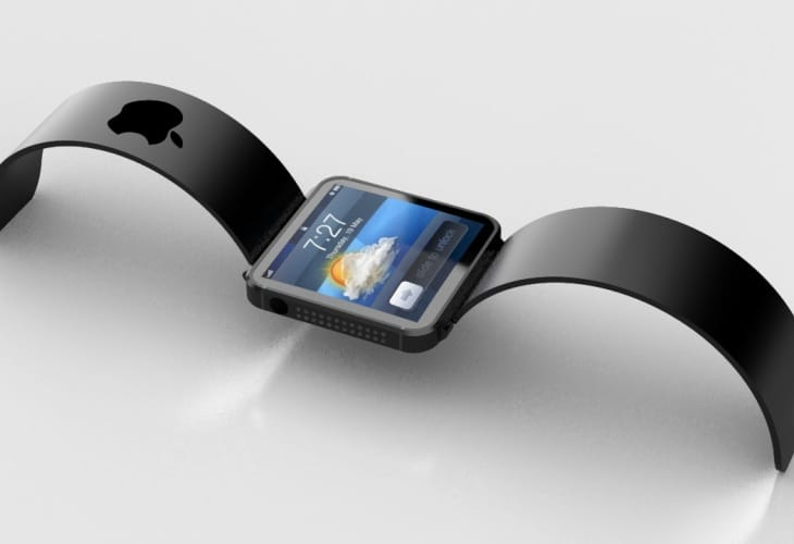 Apple iWatch features varied display size
