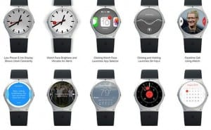 Apple iWatch summer production with Moto 360 design