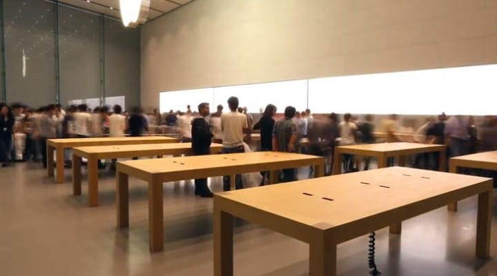 New Apple store Tokyo pre-opening video