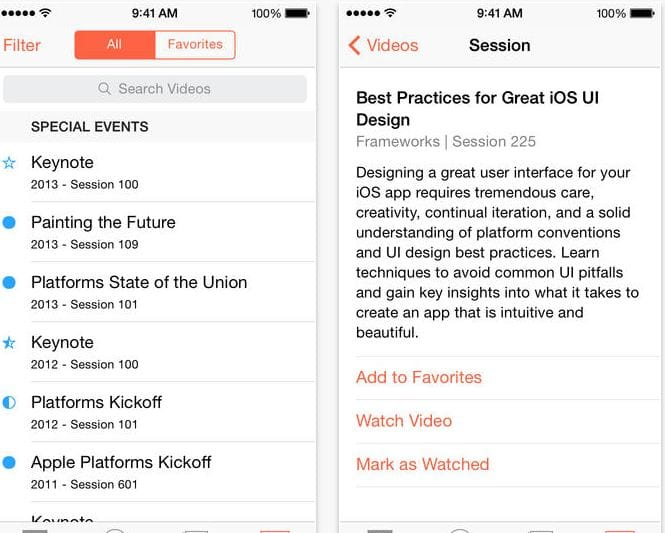 Apple updates WWDC app