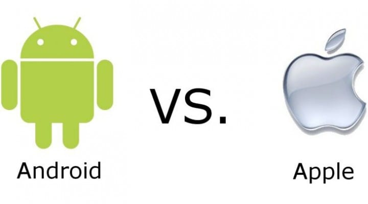 Apple vs. Android phones after slow update schedule