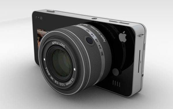 Apple's move to rival Samsung GALAXY Camera