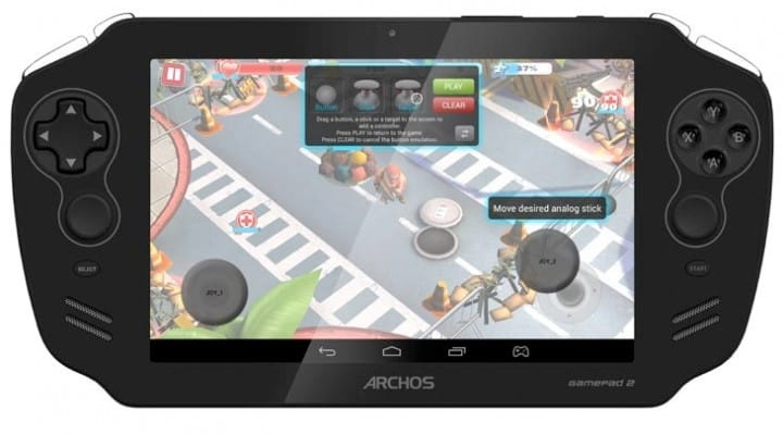 Archos GamePad 2 vs. PS Vita in 2013