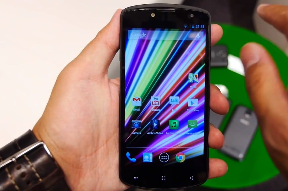 Archos Oxygen 50 Android phone first look