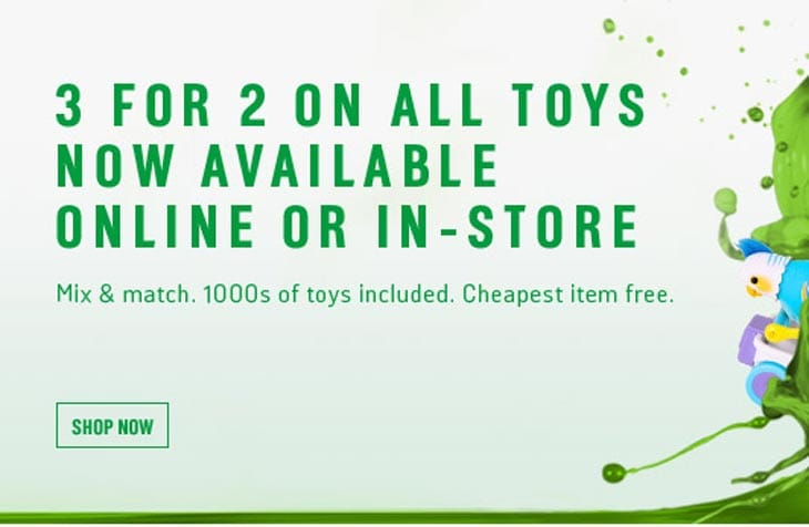 Argos-3-for-2-Toys-sale-starts