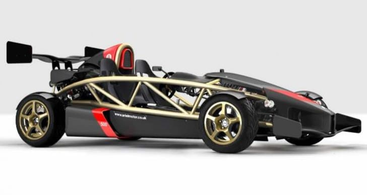 Ariel Atom hybrid for reduced emissions, improved fuel economy