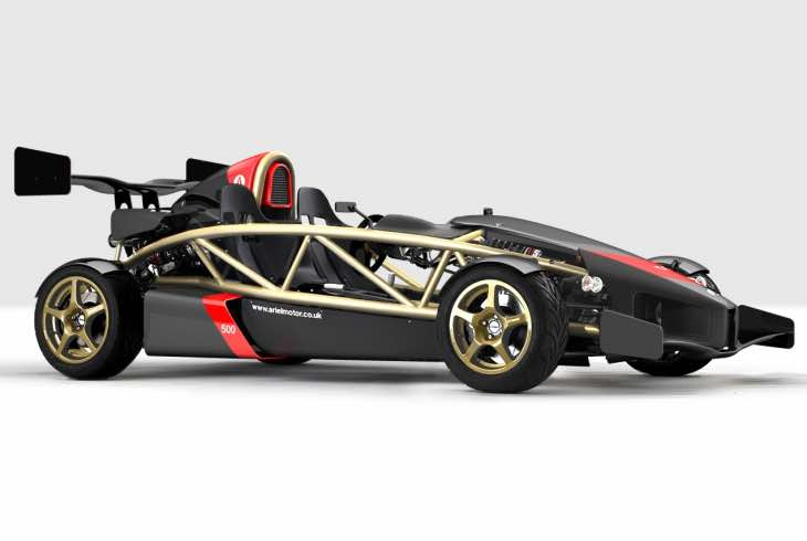 Ariel Atom hybrid for reduced emissions