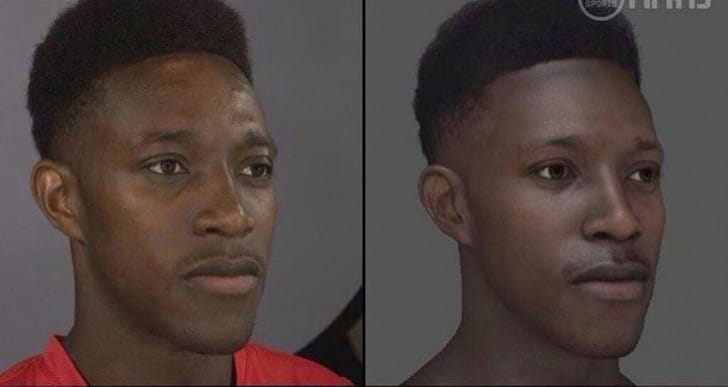 Arsenal FC's Danny Welbeck in FIFA 15 photo and rating