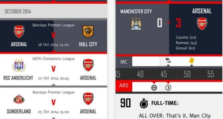 Arsenal FC updates news platform with fresh look