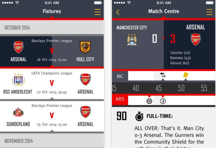 Arsenal FC updates news platform with fresh look