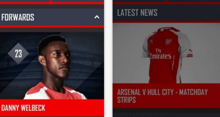 Arsenal improves news for iOS stability