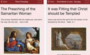 Ash Wednesday 2015 readings via Lent app