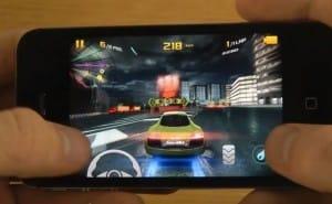 Asphalt 8: Airborne on iPhone 5 vs. 4S and iPod
