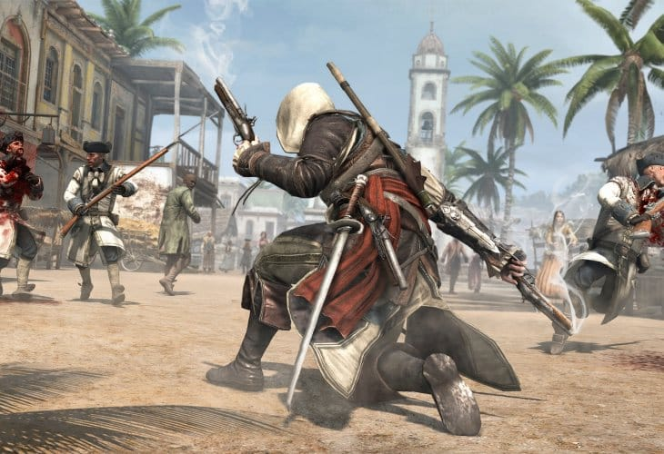 Assassin's Creed 4- Black Flag UK hands-on hours away