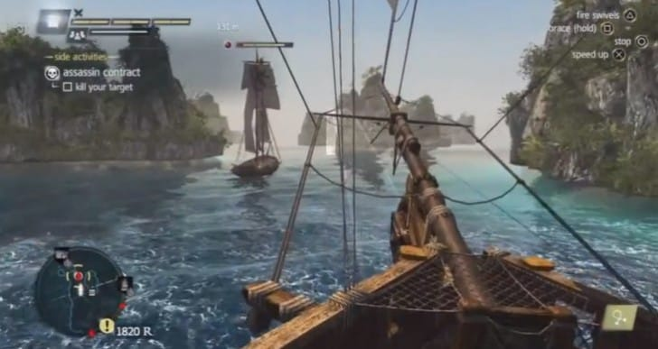 Assassin's Creed 4 Shady Business gameplay reveals glitches