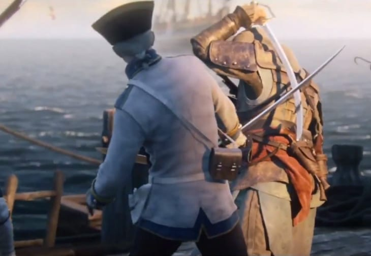 Assassin's Creed 4- Xbox One vs. PS4 gameplay footage