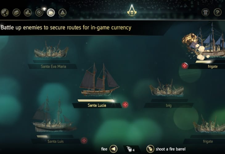 Get more from Assassin's Creed 4 with the companion app