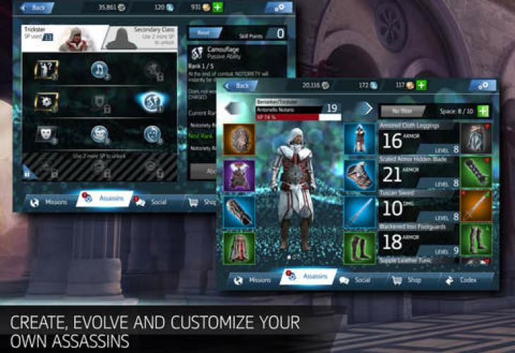 Assassin's Creed Identity on iOS