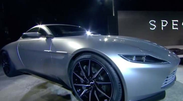 Aston Martin DB10 with Mercedes-AMG engine